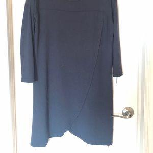Black sweater dress/tunic
